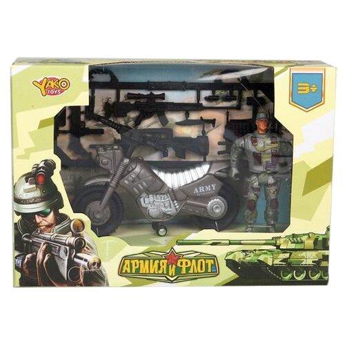 Купить Набор фигурок Yako Армия и флот M9701-6, Солдатики