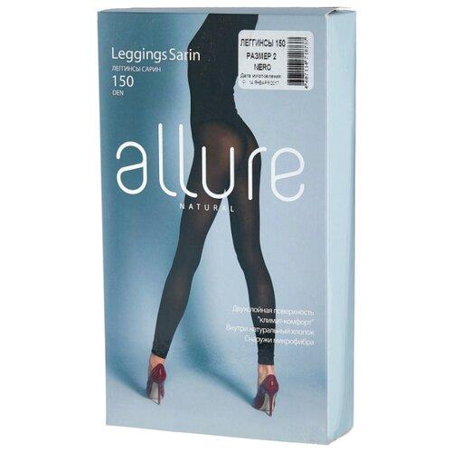 Леггинсы ALLURE Natural Sarin 150 den, размер 2, nero (черный)