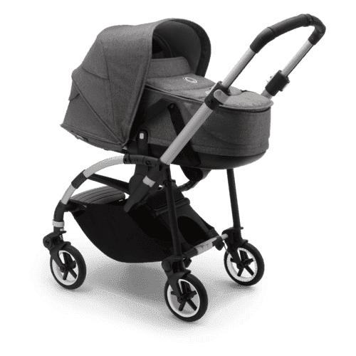 Купить Универсальная коляска Bugaboo Bee6 (2 в 1) Alu/Grey melange/Grey melange, цвет шасси: серебристый, Коляски