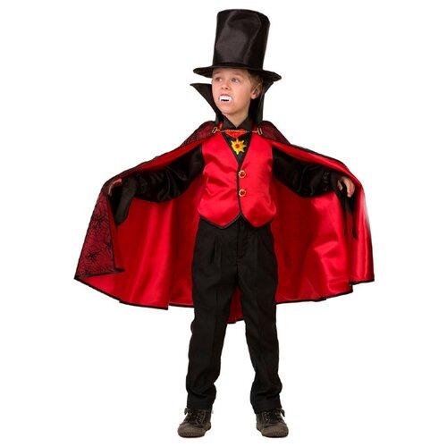 Купить Костюм Батик Дракула (8078), черный/красный, размер 158, Карнавальные костюмы