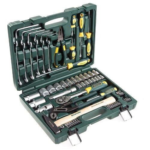 Набор инструментов Kraftool (66 предм.) 27976-H66 зелeный набор инструментов kraftool 27976 h66