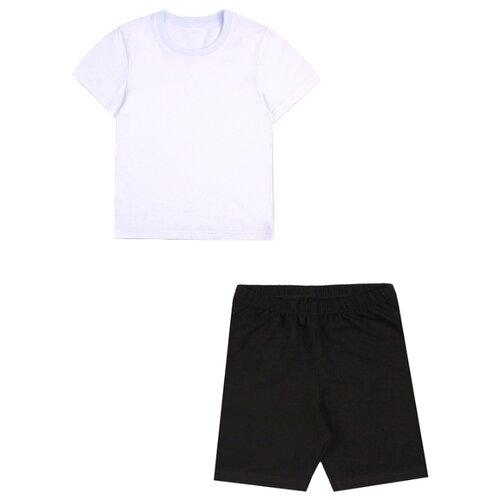 Фото - Спортивный костюм Апрель размер 122-62, белый/черный костюм алтекс кд 055 мрамор 62 серый черный 62 размер