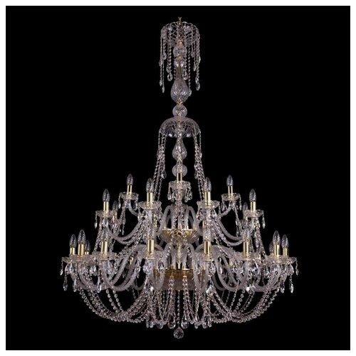 Люстра Bohemia Ivele Crystal 1406/16+8+4/400/XL-160/2d/G, E14, 1120 Вт bohemia ivele crystal 1406 16 8 4 400 160 2d g