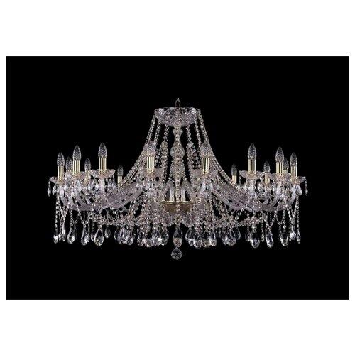 Фото - Люстра Bohemia Ivele Crystal 1413/16/400/G, E14, 640 Вт люстра bohemia ivele crystal 1413 18 400 g e14 720 вт