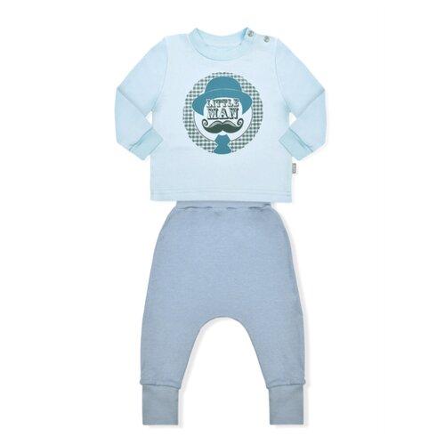 Купить Комплект одежды LEO размер 74, голубой, Комплекты