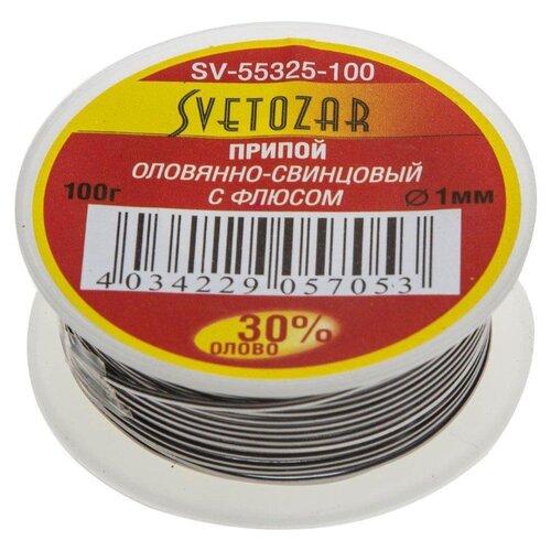 Припой СВЕТОЗАР SV-55325-100- преимущества, отзывы, как заказать товар за 457 руб. Бренд СВЕТОЗАР