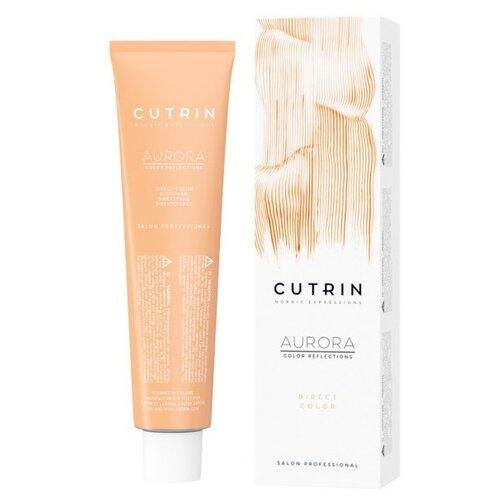 Краситель прямого действия Cutrin Aurora Direct Color Абрикос (пастельно-оранжевый), 100 мл краситель прямого действия kaypro kay direct золотистый блондин 100 мл