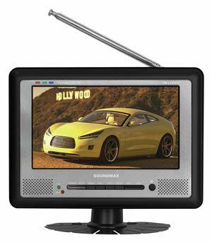 Автомобильный телевизор SoundMAX SM-LCD711