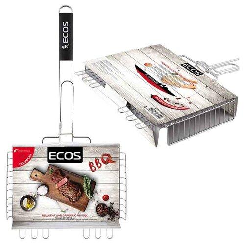 Решетка ECOS RD-103C для барбекю, 40х27 смРешетки<br>