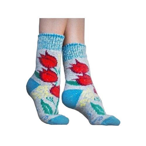Носки шерстяные Бабушкины носки N6R25-2 размер 38-40