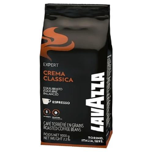 цена Кофе в зернах Lavazza Crema Classica, арабика/робуста, 1000 г онлайн в 2017 году
