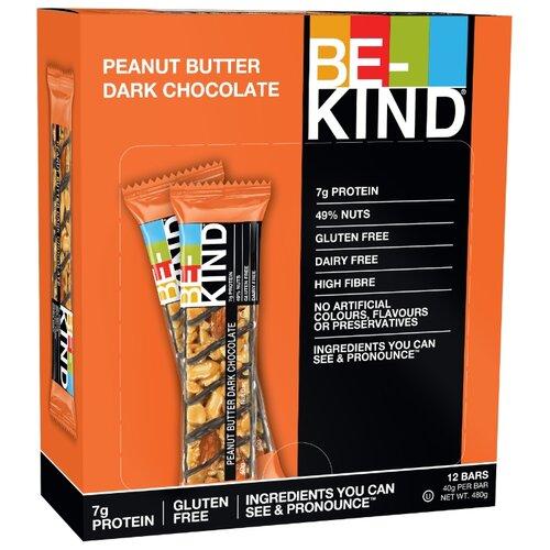 Ореховый батончик Be-Kind Peanut Butter Dark Chocolate, 12 шт цена 2017