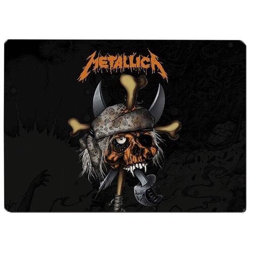 Коврик для мыши Metallica череп в бандане