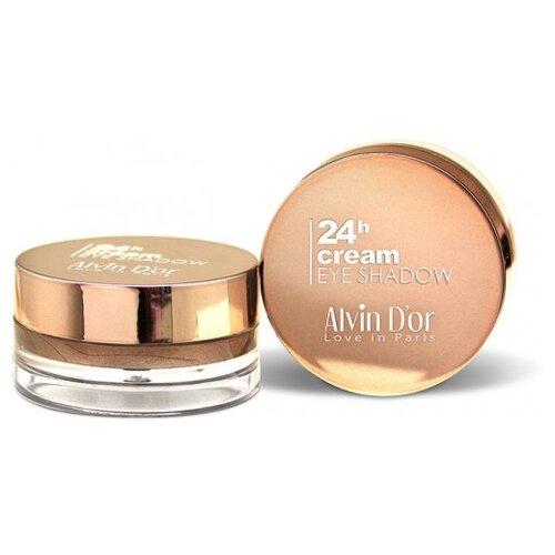 Alvin D'or Тени для век 24h Cream EyeShadow AES-15 08 молочный капучино тени для век матовые eyeshadow matt 0 8г 524 dark grey mocha