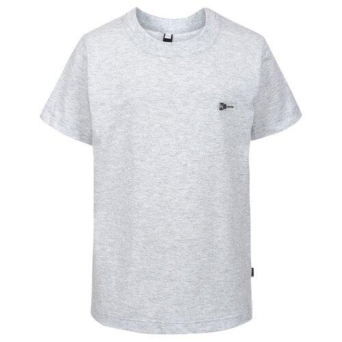 Футболка Nota Bene размер 140, серый платье nota bene размер 140 васильковый