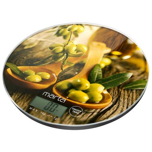 Кухонные весы MARTA MT-1640 олива кухонные весы marta mt 1640 олива