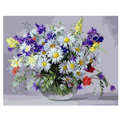Купить ВанГогВоМне Картина по номерам Луговые цветы , 40х50 (ZX 20097), Картины по номерам и контурам