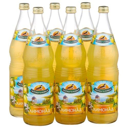 Газированный напиток Черноголовка Лимонад, 1 л, 6 шт. мингаз лимонад напиток 0 5 л