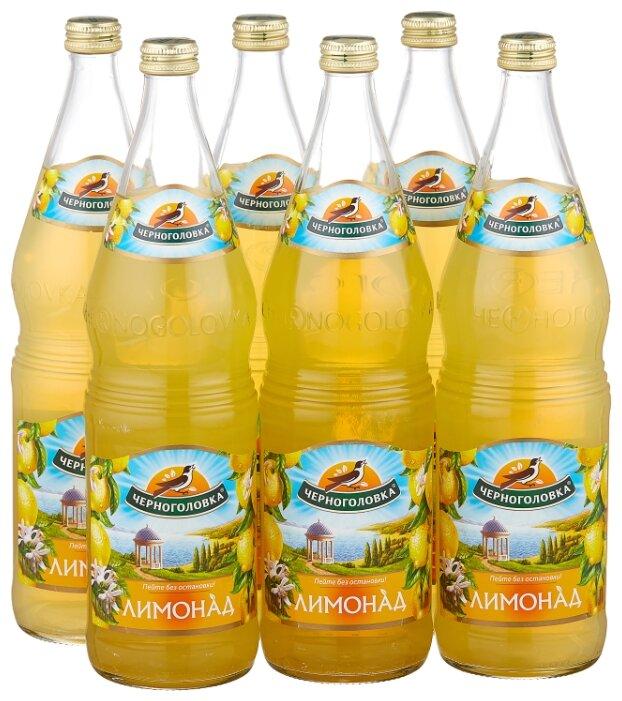 Купить Газированный напиток Черноголовка Лимонад, 1 л, 6 шт. по низкой цене с доставкой из Яндекс.Маркета (бывший Беру)