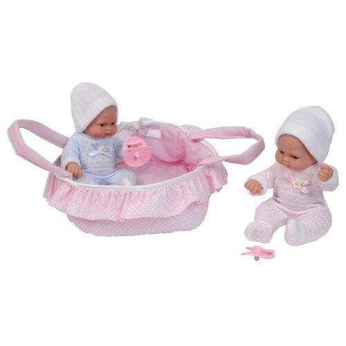 Купить Набор кукол Пупсы в корзине, 28см, F28018, Falca, Куклы и пупсы