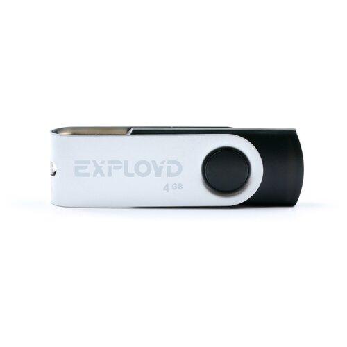 Купить Флешка EXPLOYD 530 4GB black