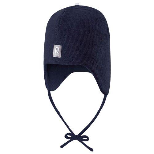 Купить Шапка Reima размер 46, синий, Головные уборы