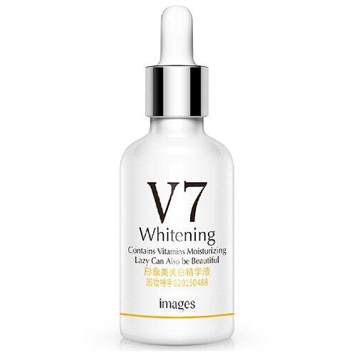 Images V7 Whitening Serum Витаминная сыворотка концентрат для лица (глубокое проникновение), 15 мл klapp сыворотка correction serum корректор 15 мл
