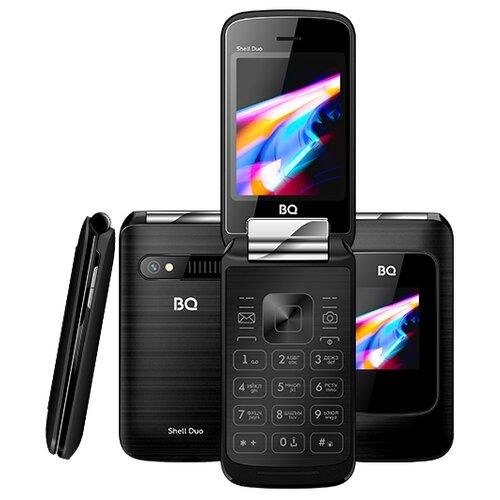 Телефон BQ 2814 Shell Duo черный