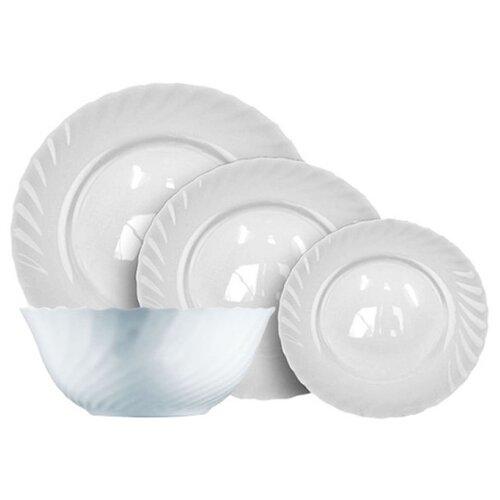 цена на Столовый сервиз Luminarc Trianon 19 предметов 00144 белый