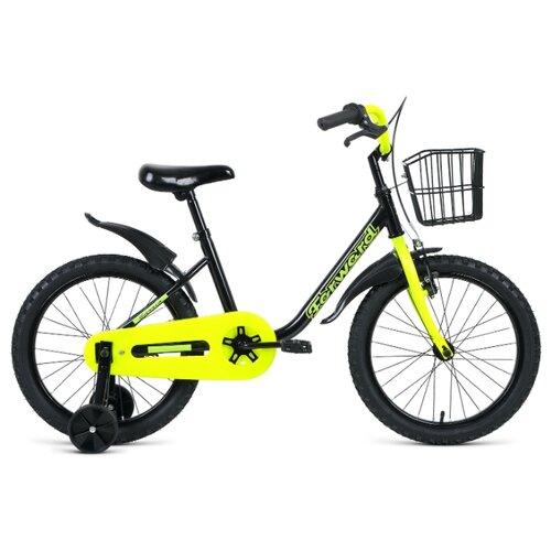 Детский велосипед FORWARD Barrio 18 (2020) черный/желтый (требует финальной сборки) el barrio úbeda