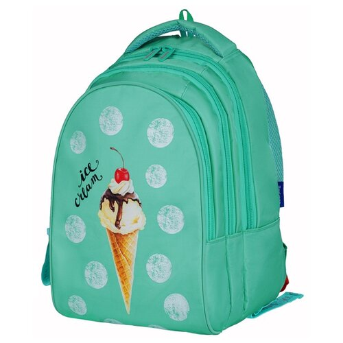 Купить Berlingo рюкзак inStyle Вкусное мороженое, бирюзовый, Рюкзаки, ранцы