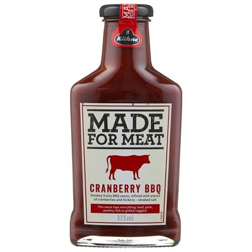 remia smokin jones bbq соус с чесноком 450 мл Соус Kuhne Cranberry BBQ, 375 мл