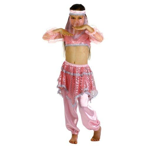 Купить Костюм Страна Карнавалия Ясмин (2466277-2466280), розовый, размер 110-116, Карнавальные костюмы