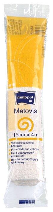 Matopat бинт медицинский вискозный нестерильный Matovis