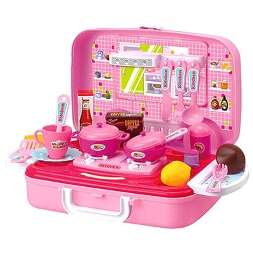 Купить Кухня Ranxian ZY786144 розовый, Детские кухни и бытовая техника