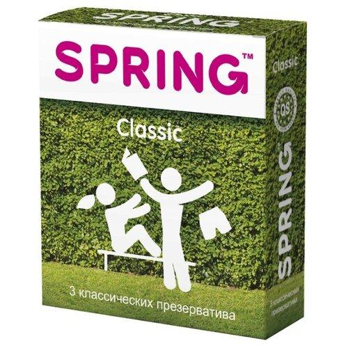 Презервативы Spring SPRING CLASSIC (3 шт.) 2016 spring