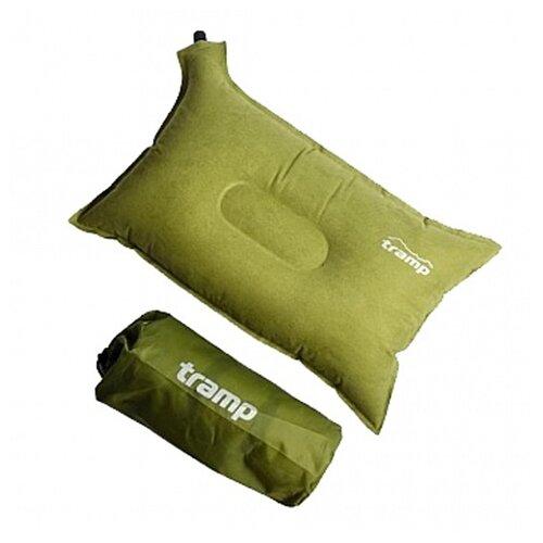 Подушка Tramp самонадувающаяся комфорт плюс TRI-012 ( 43*34*8.5см.)