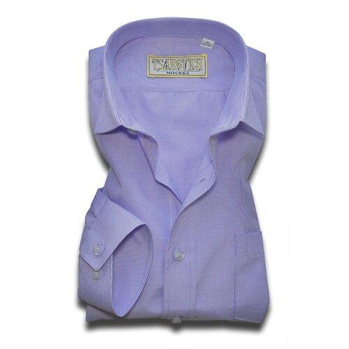 Рубашка Tsarevich размер 33/146-152, сиреневый