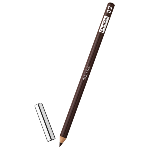 Pupa Карандаш для век True Eyes, оттенок 02 коричневый  - Купить