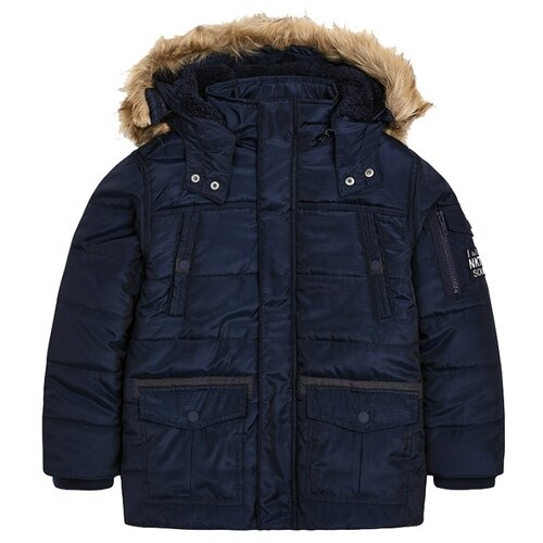 Куртка Mayoral 7477 размер 152, темно-синий фото