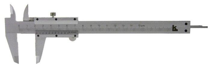 Нониусный штангенциркуль КАЛИБРОН 104529 150 мм,