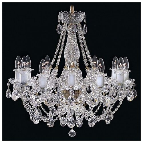 Люстра Elite Bohemia L 110/12/01 S, E14, 480 Вт люстра bohemia ivele crystal 1703 1703 12 320 c gb e14 480 вт