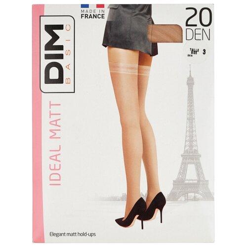 цена Чулки DIM Basic Ideal Matt 20 den, размер 3, телесный (бежевый) онлайн в 2017 году