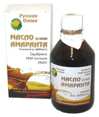Русская олива Масло из семян амаранта