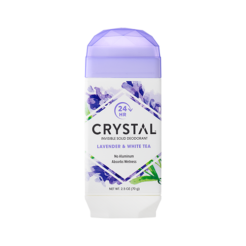 Crystal дезодорант, стик, Lavender & White Tea (solid), 70 г