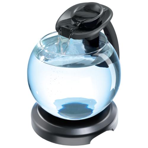 Аквариумный набор 6.8 л (освещение, фильтр, подставка) Tetra Cascade Globe Duo Waterfall черный аквариумный набор 6 8 л tetra cascade globe белый