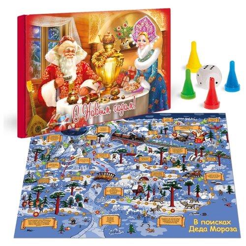 Настольная игра Поздравительная почта В поисках Деда Мороза росмэн книга стихи для деда мороза