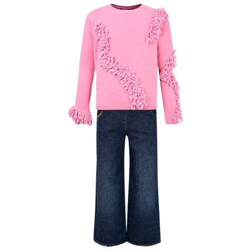 Купить Комплект одежды Il Gufo размер 140, розовый/кремовый/синий, Комплекты и форма