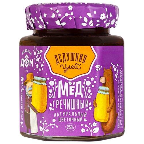 Мед Дедушкин улей гречишный 250 г луговица мед натуральный гречишный 250 г