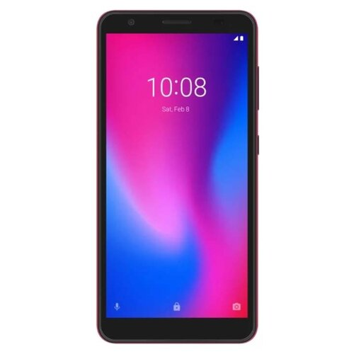 Смартфон ZTE Blade A3 (2020) NFC красный смартфон zte blade a3 черный 5 16 гб lte wi fi gps 3g bluetooth